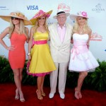 We Know Hugh Hefner and his ladies are Derby ready!